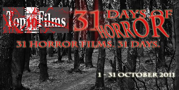 31 days of horror, top 10 films,
