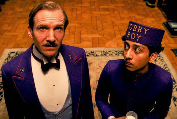 Wes Anderson, The Grand Budapest Hotel, Top 10 Films of 2014