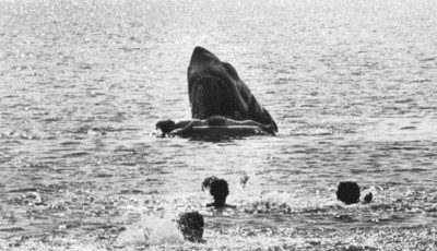 Jaws - Production Still, Top 10 Films