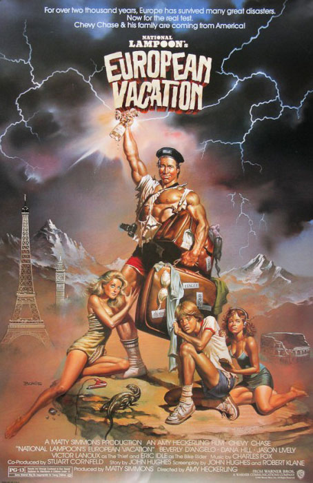 Great Film Posters: National Lampoon's European Vacation
