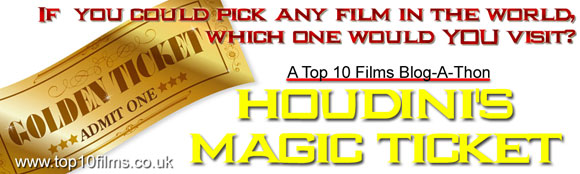 houdini magic ticket, blogathon, last action hero,