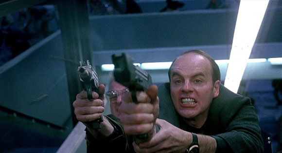 Richter (Michael Ironside, Total Recall, 1990)