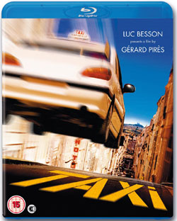 Taxi, Girard Pires, Luc Besson, Top 10 Films, Blu-ray, UK
