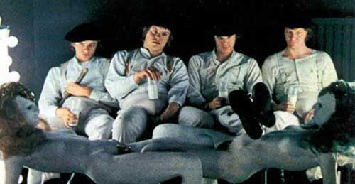 stanley kubrick clockwork orange