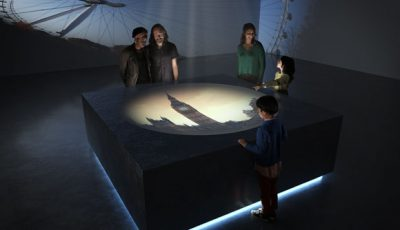 Artist's impression of camera obscura at BFI's new international centre for film, TV and the moving image.