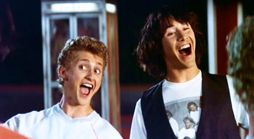 bill and ted's excellent adventure, top10films,