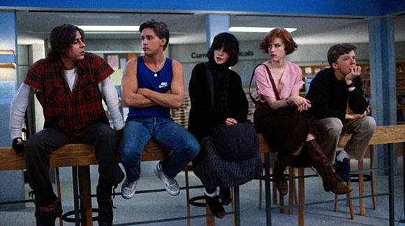 The Breakfast Club, John Hughes, Brat Pack, High School Films, Teenage Rebellion