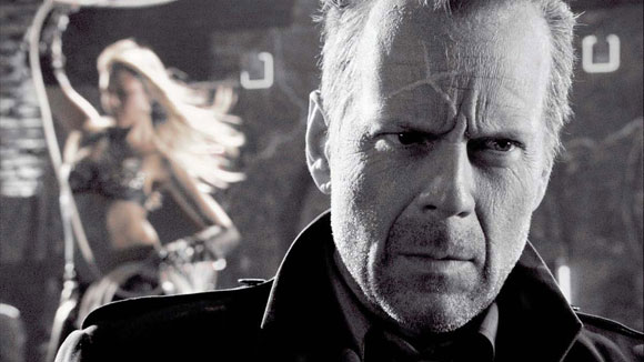 Bruce Willis in Robert Rodriguez's Sin City