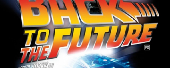 Back to the future / re-release poster