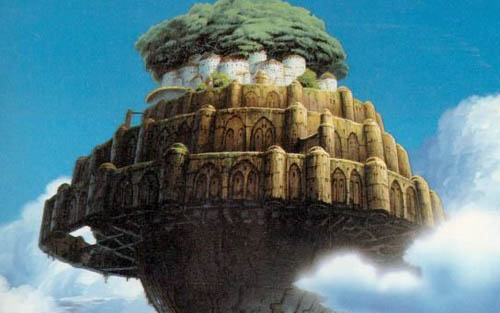 laputa castle in the sky anime japan animation