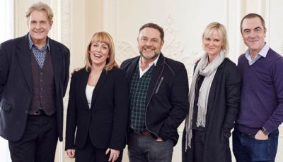 The returning cast of Cold Feet