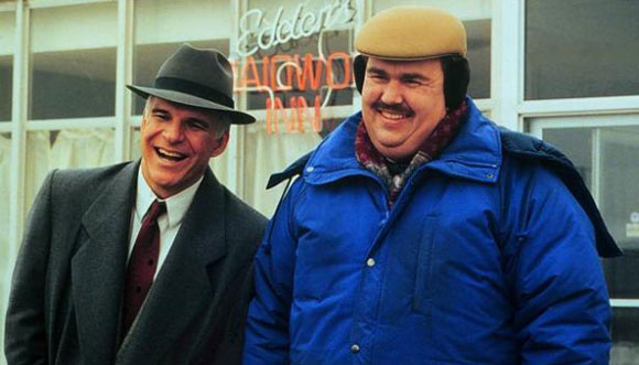 Del Griffith, John Candy, Planes Trains and Automobiles, 1980s Comedy Film Characters - Top 10 Films