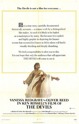the devils, ken russell, film, horror, oliver reed,