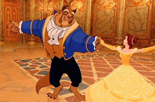 beauty and the beast,
