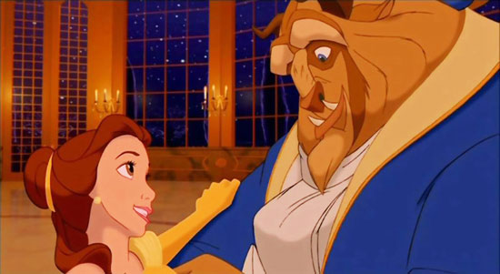 beauty and the beast, film animation top 10,