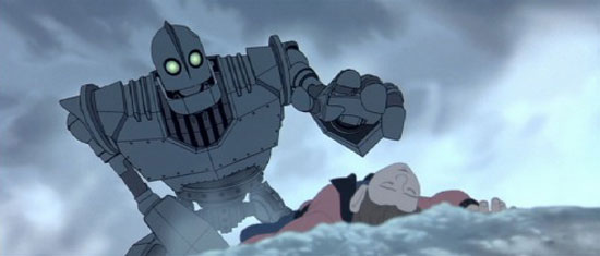 iron giant, film,