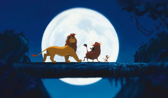 the lion king, film, disney top 10, top ten,