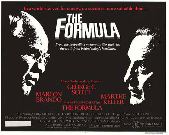 """The Formula"" No Recipe For Spin - Top 10 Films"