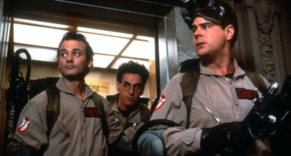 Ghostbusters, Ivan Reitman, Top 10 Films, Dan Aykroyd, Bill Murray, Harold Ramis, Top 10 Comedy Films