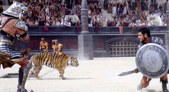 gladiator, ridley scott best film, top 10,