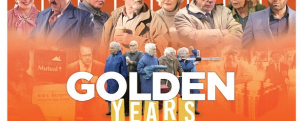 Golden Years 12A, Amy Robsart Hall, Syderstone PE31 8SD | British Comedy at its best in this OAP romp; bowls, bingo and bank robbery! | cinema