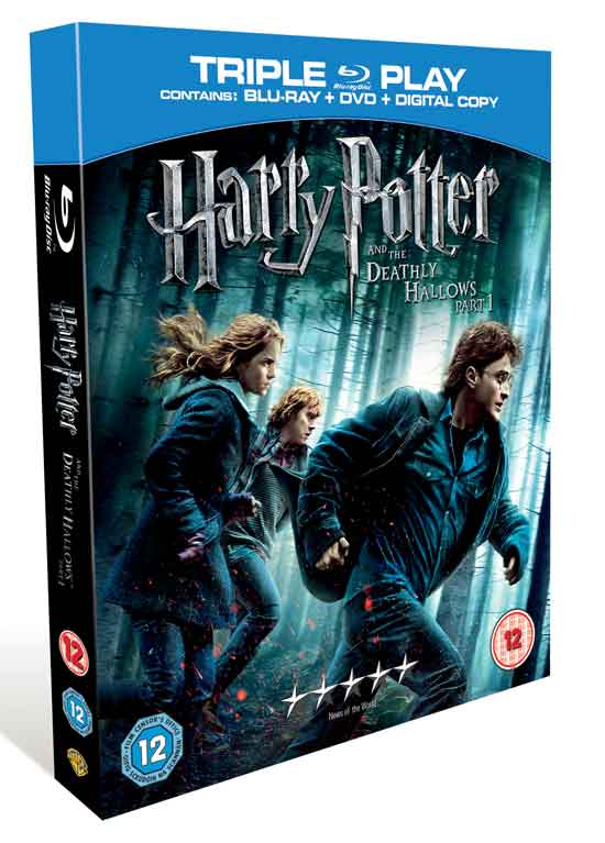 Harry Potter and the Deathly Hallows – Part 1 is released on DVD and ...