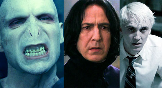 baddies, voldemort, draco malfoy, snape