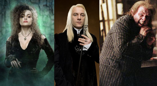 death eaters, bellatrix, lestrange, harry potter