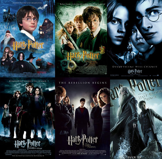 harry potter, film posters,
