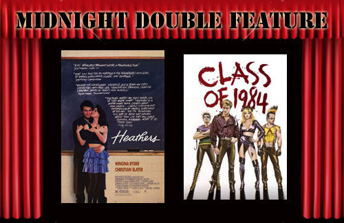 top10films midnight double feature heathers class of 1984