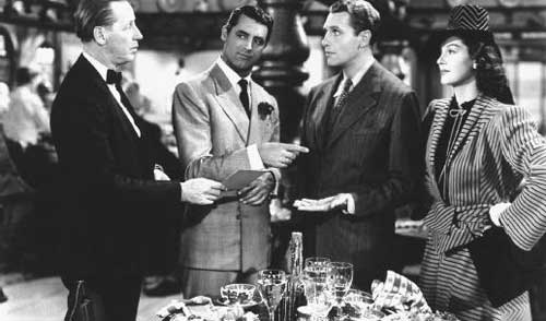 his girl friday, cary grant