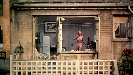 rear window, best hitchcock movie, top 10, james stewart, grace kelly,