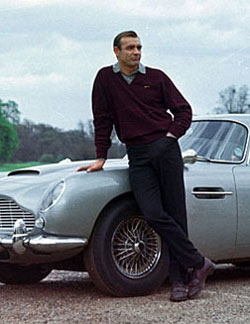 Sean Connery in Goldfinger - Top 10 Films