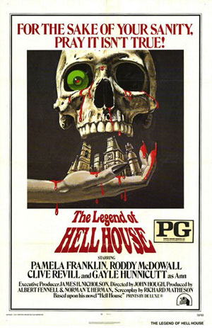 legend of hell house, horror films, 70s horror,