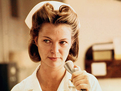louise fletcher, nurse ratched, one flew over the cuckoo's nest