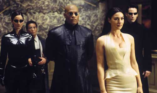 matrix reloaded film top10films keanu reeves laurence fishburne