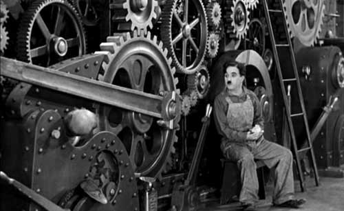 modern times, charlie chaplin, film