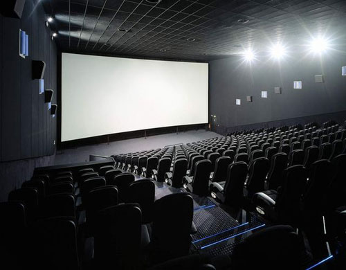 cinema theatre screen film movie