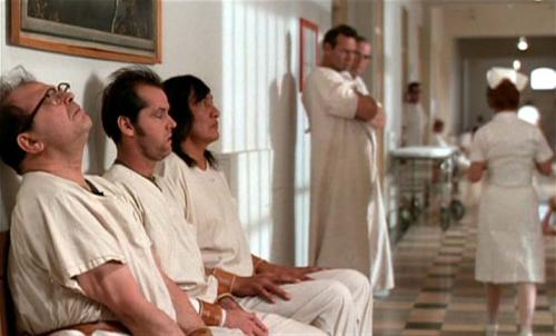 One Flew Over The Cuckoo's Nest, Milos Forman, Jack Nicholson