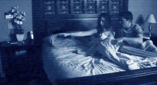 paranormal activity, film, horror, low budget,