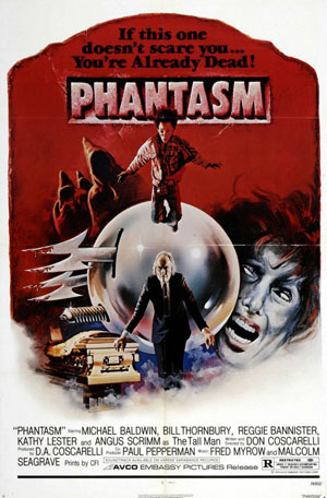 phantasm, film, 70s horror,