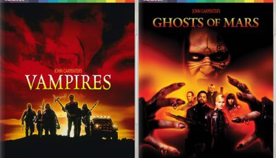 Vampires and Ghosts of Mars arrive on January 23, 2017