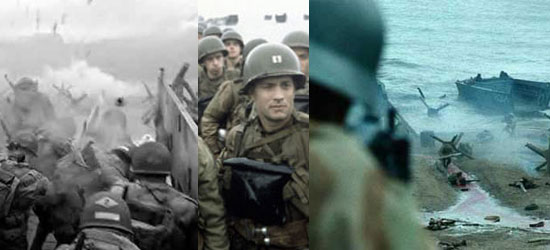 saving private ryan, world war II, omaha beach, normandy, steven spielberg