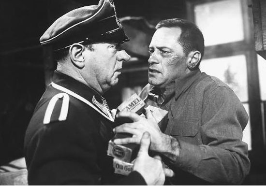 stalag 17, william holden, otto preminger, billy wilder,