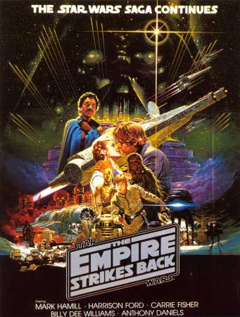 empire strikes back star wars best 1980s eighties sequel