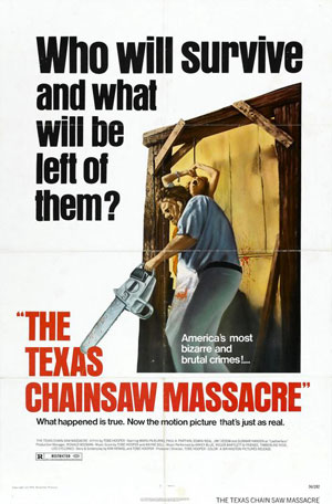 texas chainsaw massacre, film, tobe hooper, top ten horror, 1960s, 1970s,