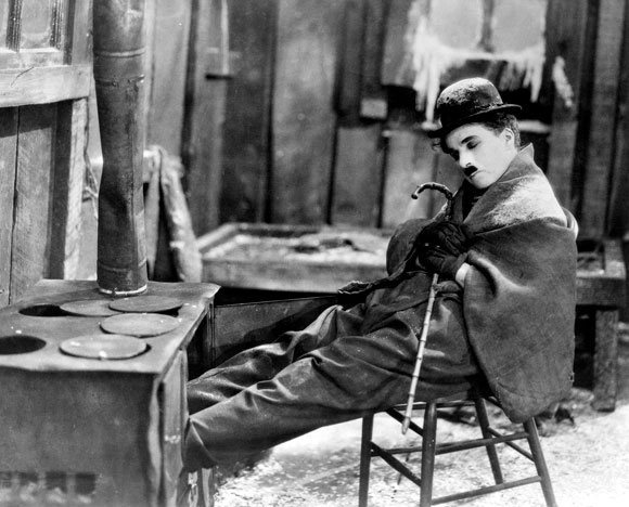 The Gold Rush, Chaplin, Charlie, Hollywood,