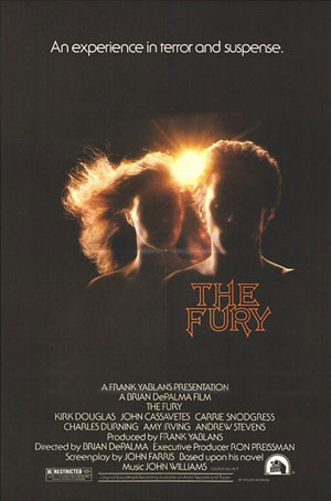 fury, de palma, best 70s horror,