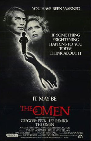 the omen, richard donner, film, top 10 films, 1960s, 1970s, horror,