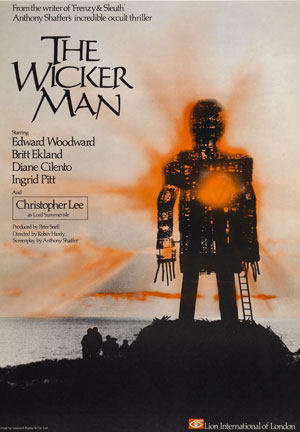 the wicker man, robin hardy, 1970s, horror, top 10,